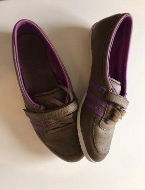 Adidas Klittenband Sportschoenen bruin-violet