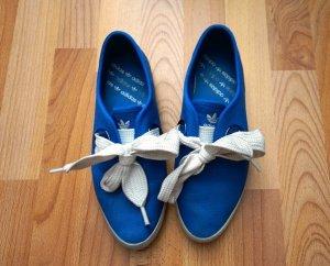 Adidas Ballerina Sneaker blau Gr. 38/39 Schleife Bow Street Wear Retro Style