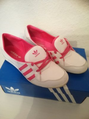 Adidas Ballerinas Gr.38(2/3)TOP! weiß/pink SOLD OUT