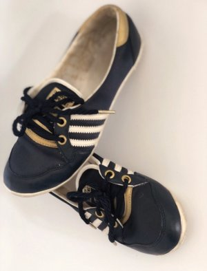 ADIDAS - Ballerinas - Limited Edition - marine / gold