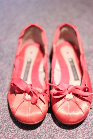 Adidas Ballerinas pink