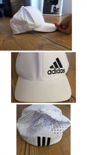 Adidas Baseball Cap white-black