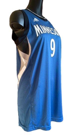 Adidas Sports Shirt black-steel blue polyester
