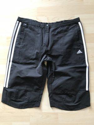 Adidas Pantalón corto deportivo negro-blanco