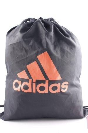 Adidas Beuteltasche schwarz-lachs sportlicher Stil