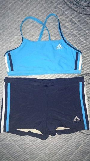 Adidas Bikini in dkl blau türkis