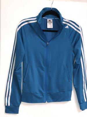 Adidas blaue sweatjacke Gr. XS
