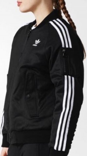 Adidas Originals Jack zwart-wit