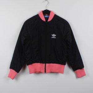 ADIDAS Bomberjacke Gr. XS schwarz rosa (18/10/064/K)