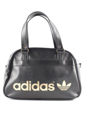 Adidas Bowlingtasche schwarz-goldfarben Skater-Look