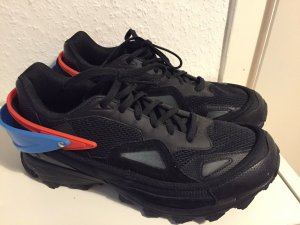 Adidas by RAF SIMONS Response Trail 2 Sneaker US 8 Black/Blue/Orange