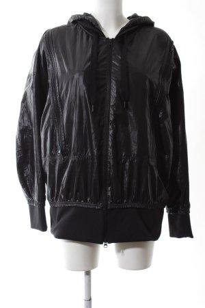 Adidas by Stella McCartney Blouson aviateur noir style décontracté