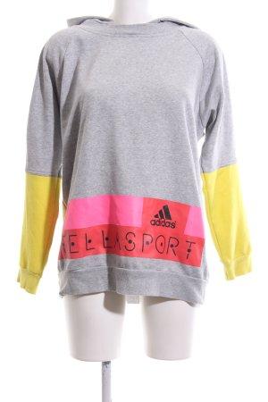 Adidas by Stella McCartney Kapuzensweatshirt Schriftzug gedruckt