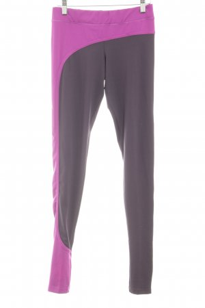 Adidas by Stella McCartney Leggings dunkelviolett-violett sportlicher Stil