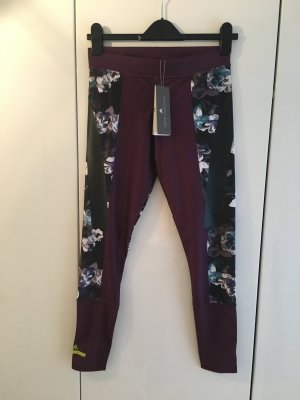 Adidas by Stella McCartney - Leggings / Techfit Tights mit Blumenmuster