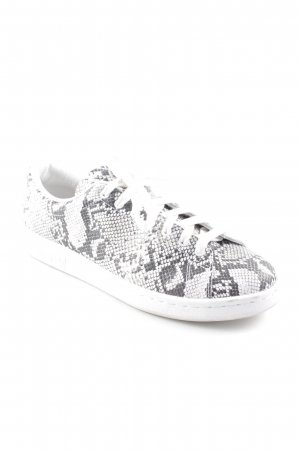 Adidas by Stella McCartney Zapatilla brogue gris-blanco estampado de animales
