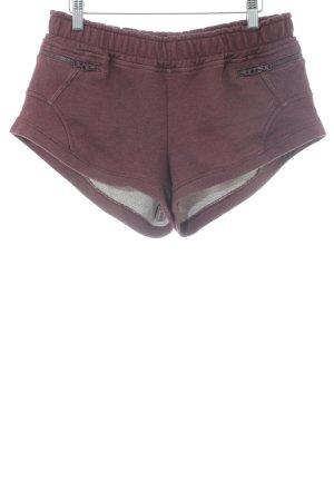 Adidas by Stella McCartney Sportshorts purpur Casual-Look