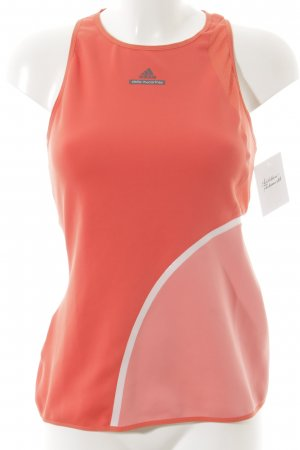 Adidas by Stella McCartney Canotta sportiva arancione scuro-rosa stile atletico