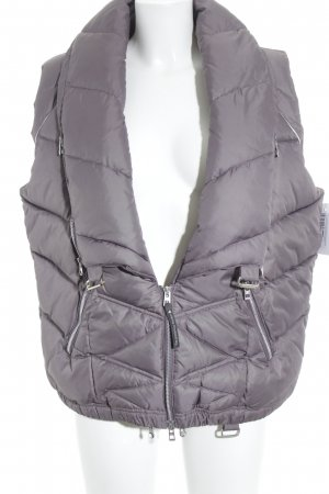 Adidas by Stella McCartney Quilted Gilet grey lilac-silver-colored