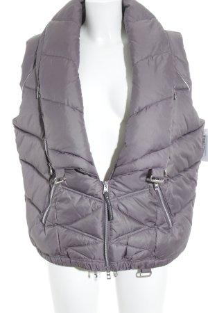 Adidas by Stella McCartney Smanicato trapuntato grigio-lilla-argento