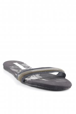 Adidas by Stella McCartney Claquette noir-gris anthracite Look de plage