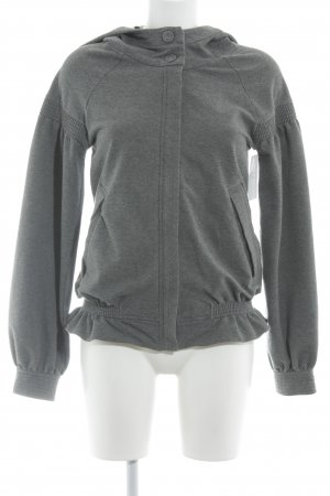 Adidas by Stella McCartney Sweatjacke dunkelgrau sportlicher Stil
