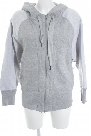 Adidas by Stella McCartney Sweatjacke hellgrau-grau Casual-Look