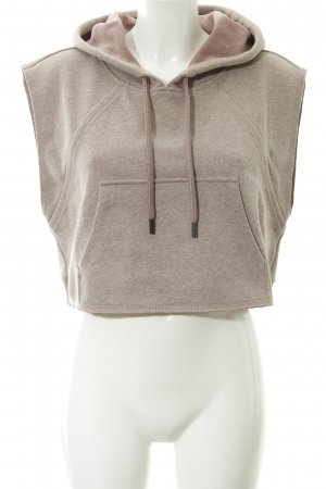 Adidas by Stella McCartney Sweatshirt vieux rose moucheté style décontracté
