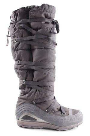 Adidas by Stella McCartney Winter Boots brown-light grey themed print