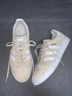 Adidas Campus Sneaker Turnschuhe Beige Weiß Gr. 39 1/3