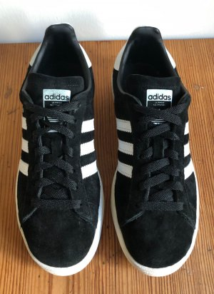 Adidas Lace-Up Sneaker black-white leather