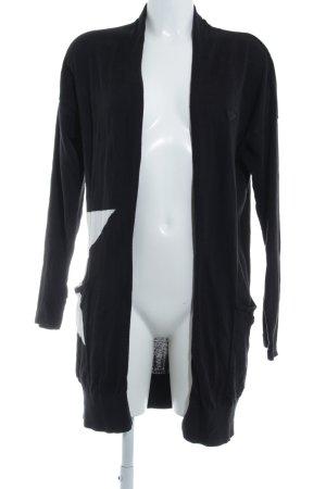Adidas Cardigan black-white star pattern street-fashion look
