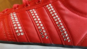 Adidas, Chucks, Rot mit Steinen, SELTEN! Wie NEU