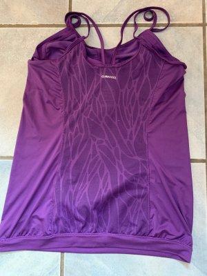 Adidas Camisa deportiva violeta oscuro