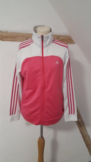 Adidas Sports Jacket white-pink polyester