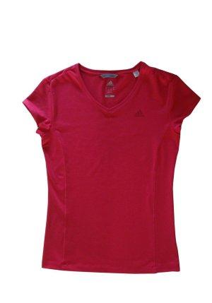 Adidas climate Damen Finess Funktions Shirt T-Shirt rosa pink magenta Gr. 42 neu