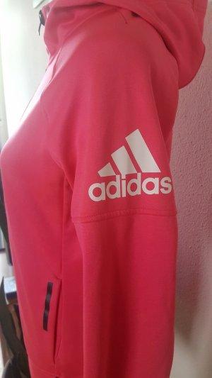 Adidas Sportjack zwart-roze