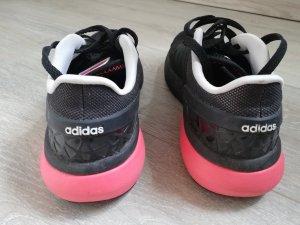 Adidas cloudfoam Flow schwarz/lachs-pink Gr. 39 1/3