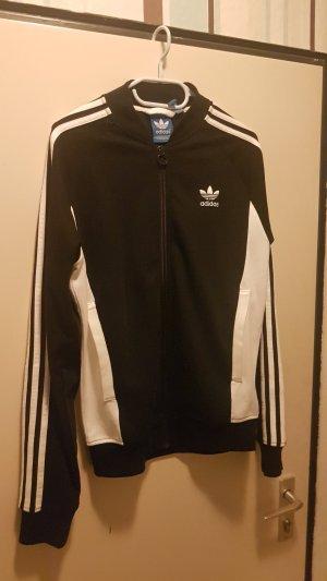 Adidas Blouson universitaire blanc-noir