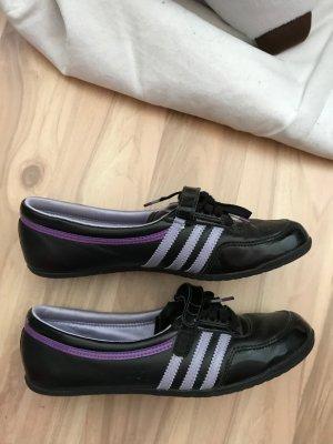 Adidas Concord schwarz lila Größe 39 wie neu keine Mängel Ballerina