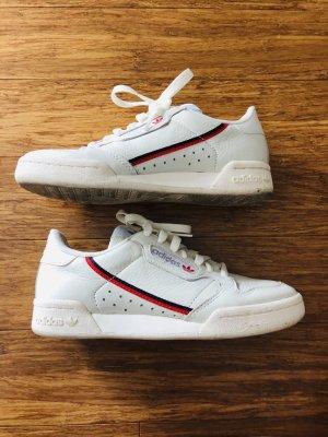 Adidas Continental 80 Gr. 36 Beige/Offwhite/Scarlett neuwertig