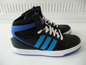Adidas Lace-Up Sneaker black-white synthetic