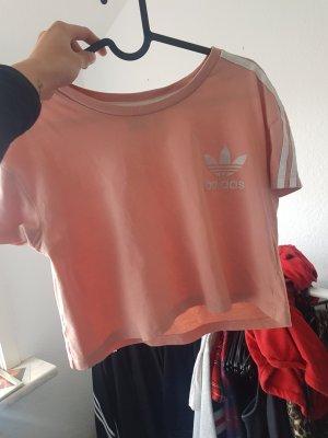 Adidas Cropped shirt roségoud