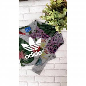 Adidas Originals Top corto multicolore