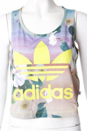 Adidas Crop Top mit Print