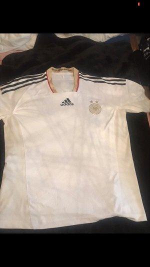 Adidas Sportshirt wit-goud