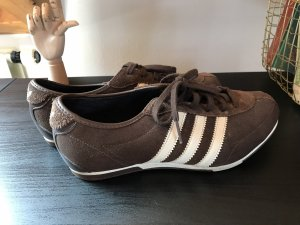Adidas Lace-Up Sneaker cream-brown