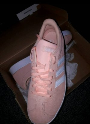 Adidas Basket rosé daim