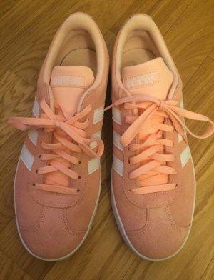 Adidas Damen Sneaker VL Court 2.0 W Rosa Gr. 40 neu