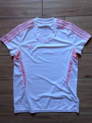Adidas Damen Sportshirt Größe M weiß rosa